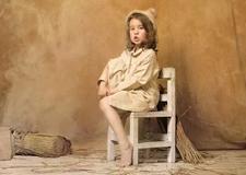 影室儿童摄影的四种场景风格布光实例