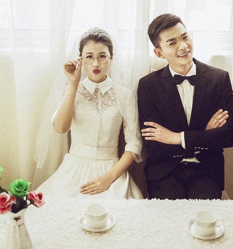 幸福爱恋 婚纱照