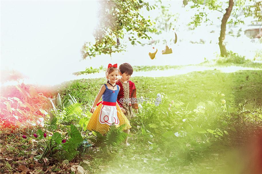 童话世界 儿童摄影