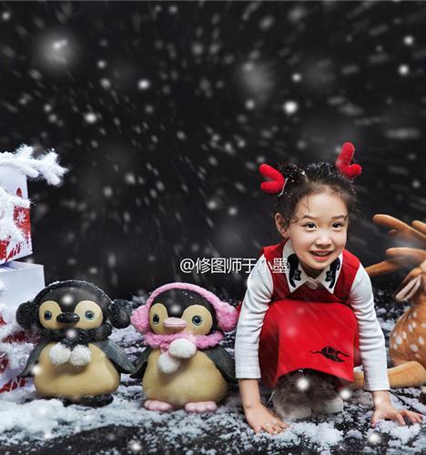 雪花时刻 儿童摄影