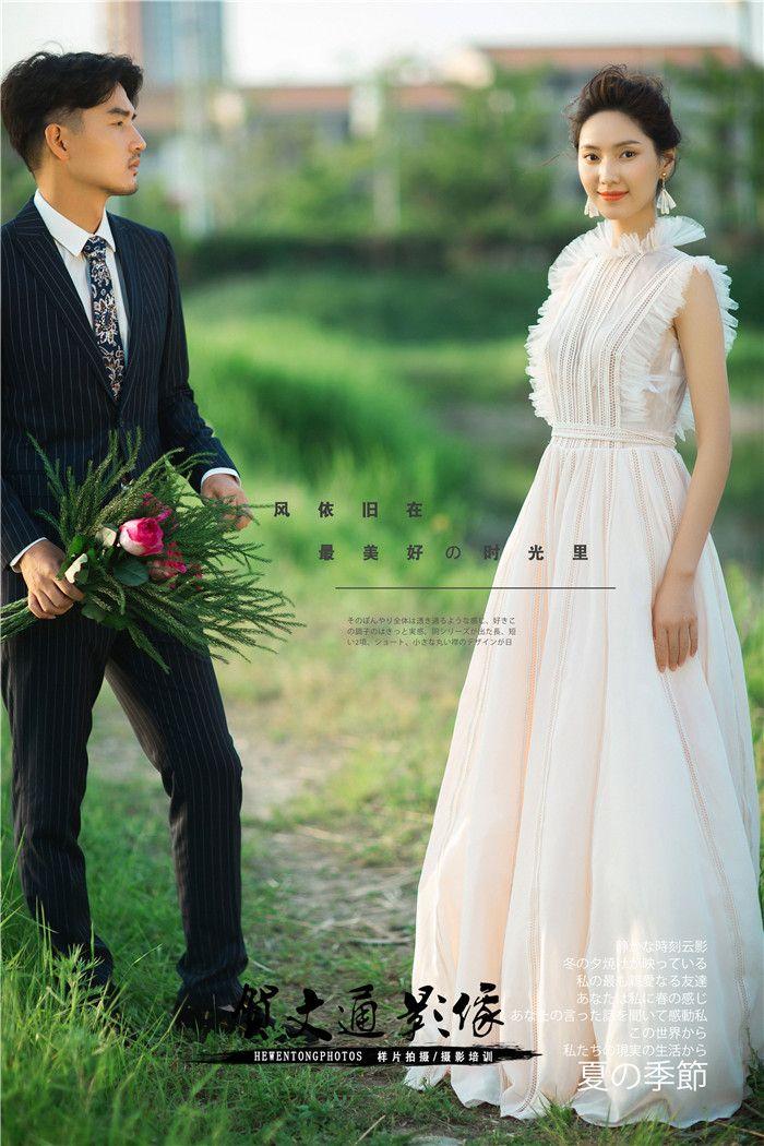 爱你的心 婚纱照