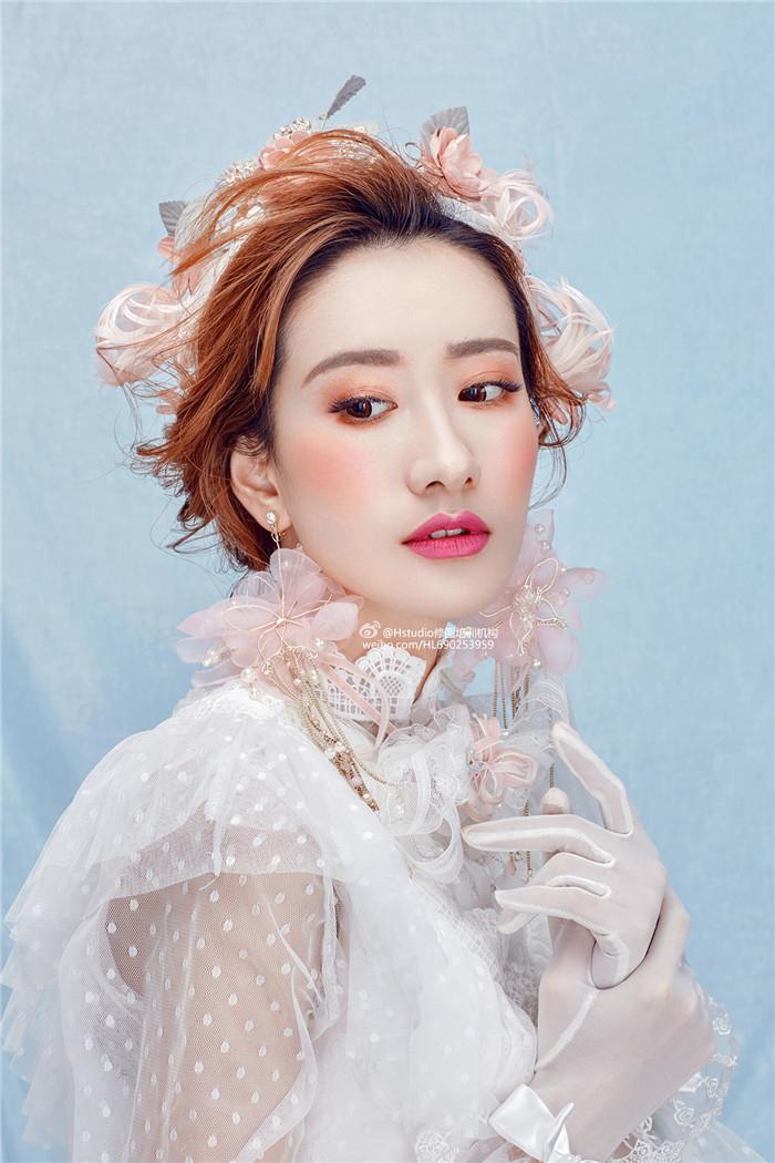 唯美新娘妆面造型 化妆造型