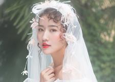 少女系新娘造型 满足你的仙女梦