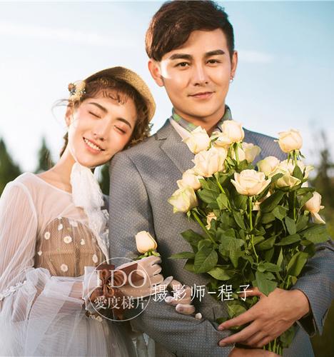 小清新 婚纱照