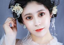仙美灵动的抽丝新娘造型 打造与众不同的少女风