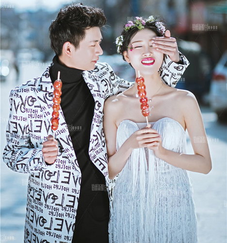 冬日的味道 婚纱照