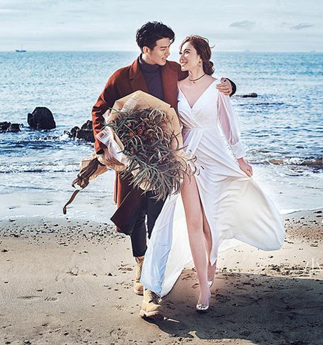 海岛之恋 婚纱照