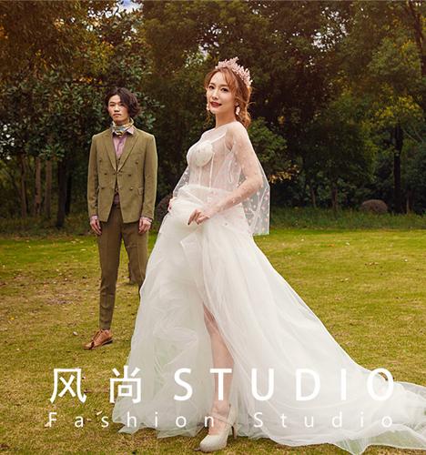 浪漫公园 婚纱照