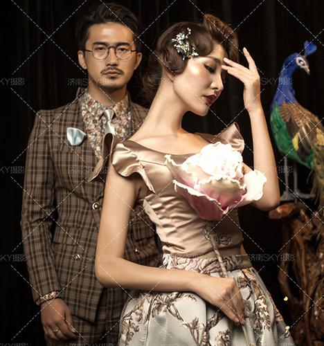 时尚中国风 婚纱照
