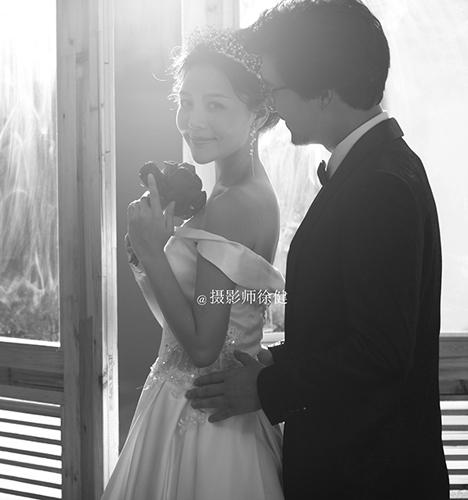 黑白复古系 婚纱照