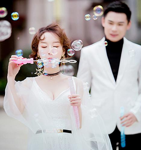 浪漫街拍 婚纱照