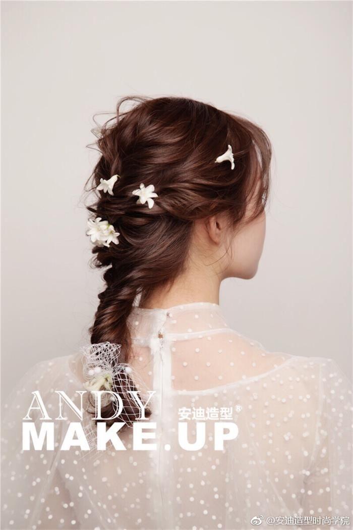 新娘发型 化妆造型