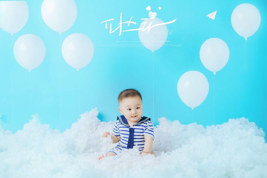 气球与宝贝 儿童摄影