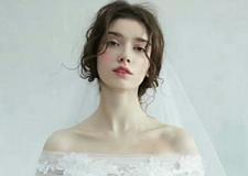 清新自然风格的新娘造型