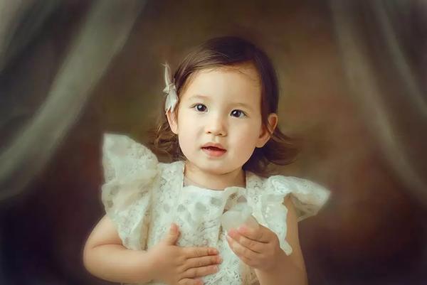 油画里的柔美时光 儿童实例摄影教程