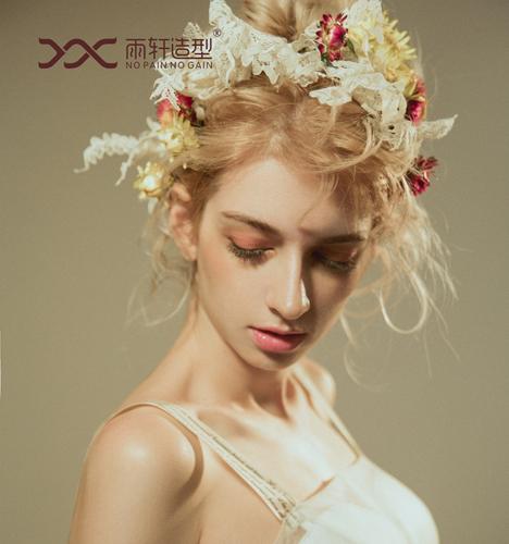 梦幻鲜花新娘造型 化妆造型