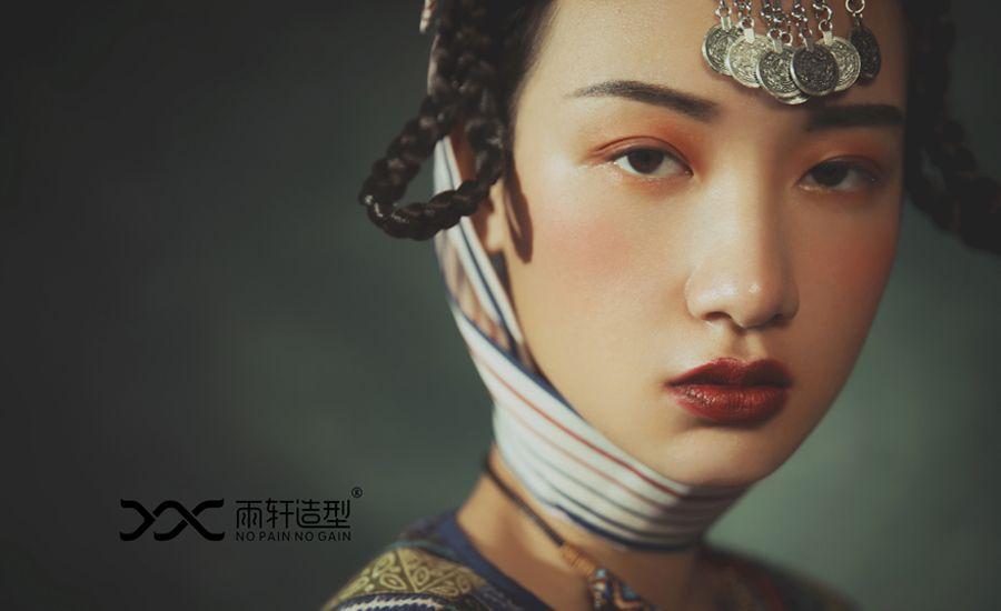 民族创意风 化妆造型
