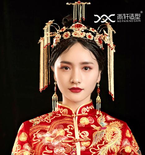 中式新娘 化妆造型