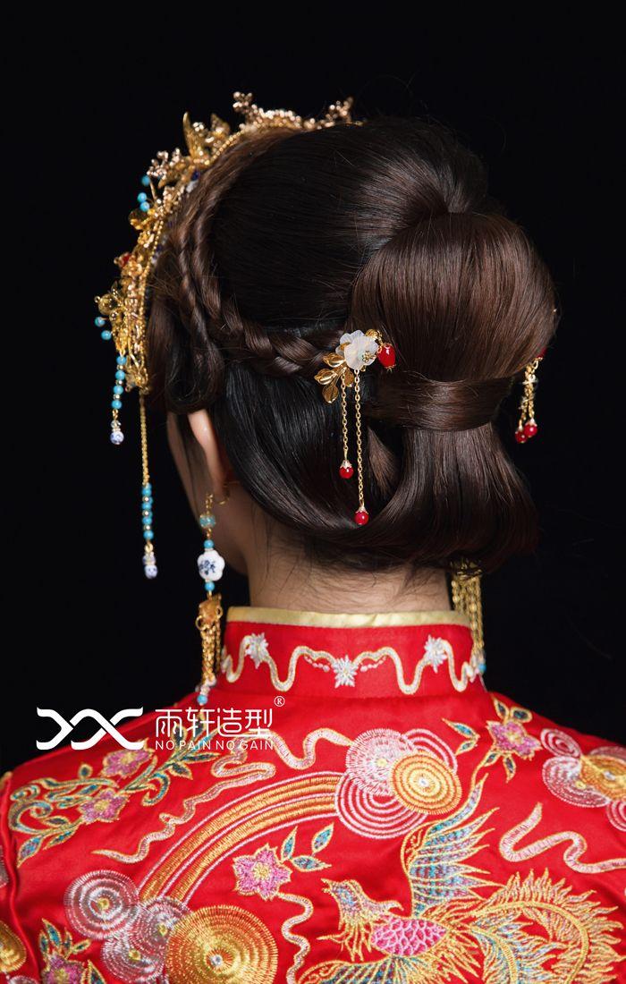 中式新娘造型 化妆造型