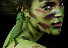伪装 cristina otero震撼视觉的创意人像摄影