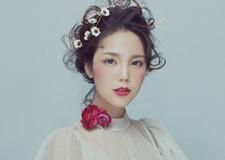 实用的韩式新娘造型