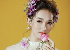 韩式鲜花新娘造型欣赏