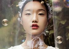 纯美日系新娘造型