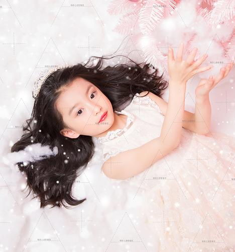 Pink粉冬圣诞 儿童摄影