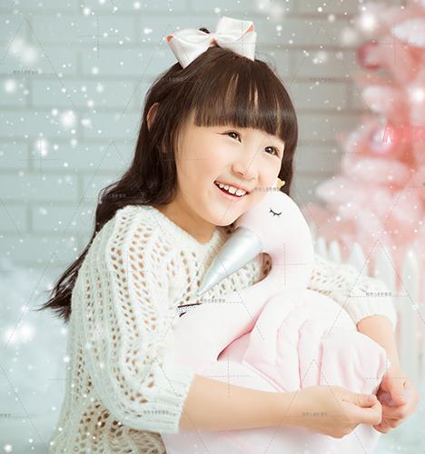 Pink 粉冬圣诞3 儿童摄影