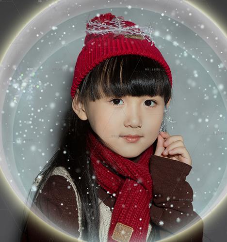 电影圣诞 儿童摄影