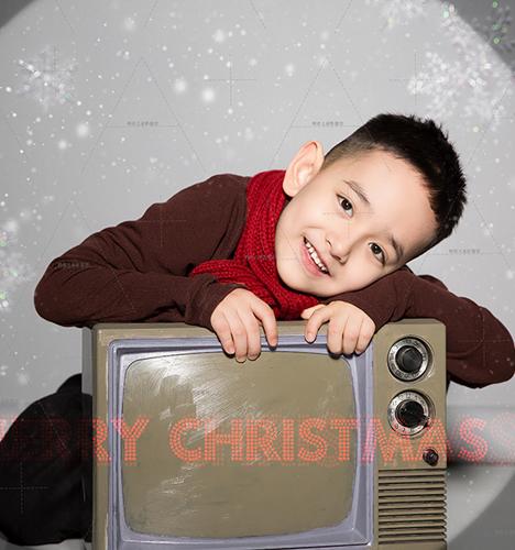 电影圣诞Boy 儿童摄影