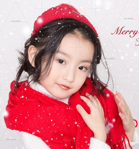 圣诞Face 儿童摄影