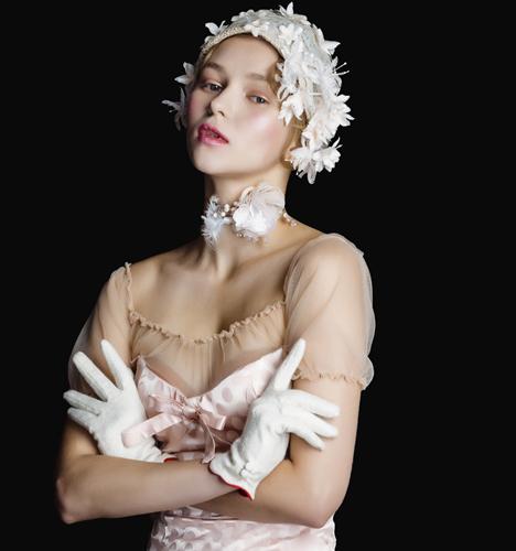 宫廷风新娘造型 化妆造型