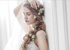 冬季纯色微光系列新娘造型欣赏