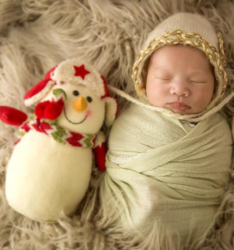圣诞宝呗 儿童摄影