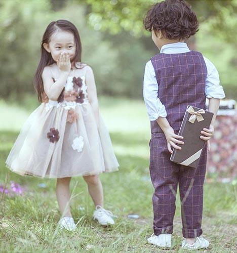 爱的礼物 儿童摄影