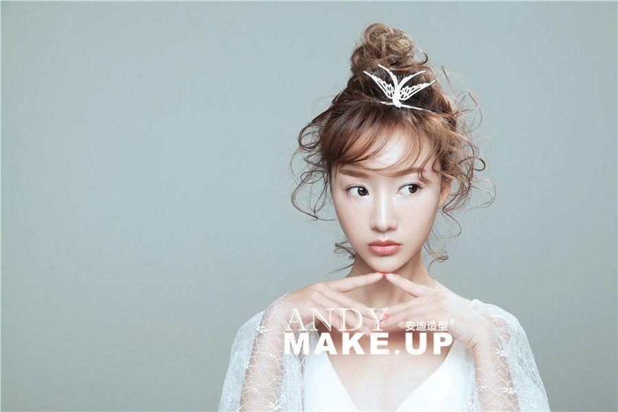 少女感新娘造型 化妆造型