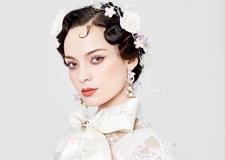 甜美复古新娘造型欣赏