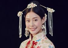 中式新娘系列 尽显古典婉约气质