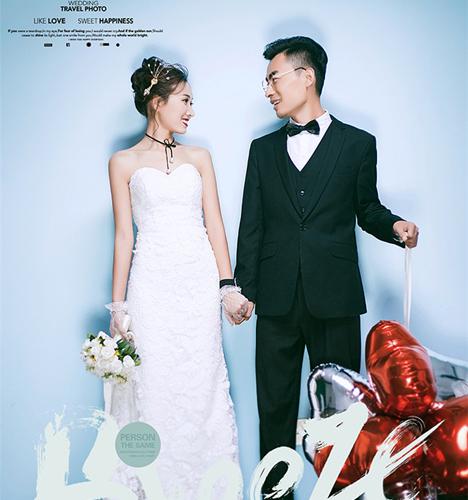 我们的爱情 婚纱照