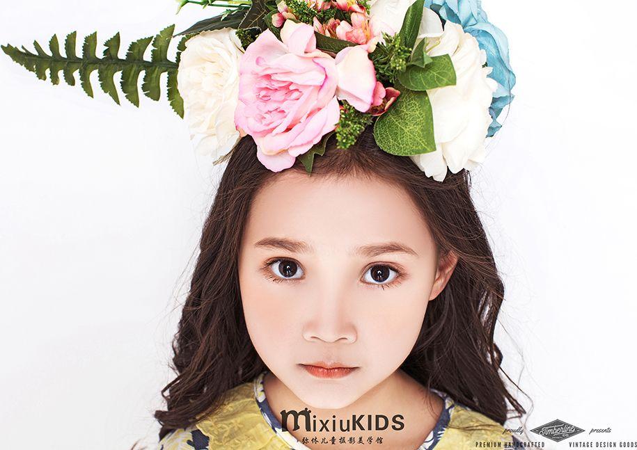 时尚丽人 儿童摄影