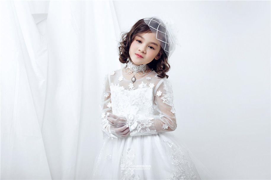 小小新娘 儿童摄影