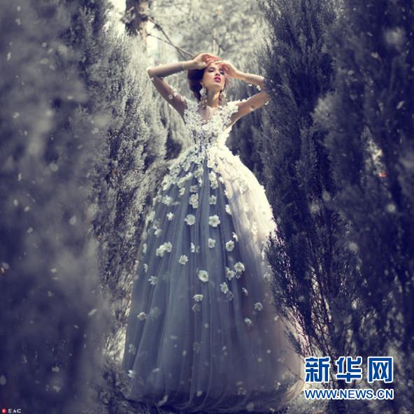 俄摄影师将童话变现实 拍超现实梦幻大片