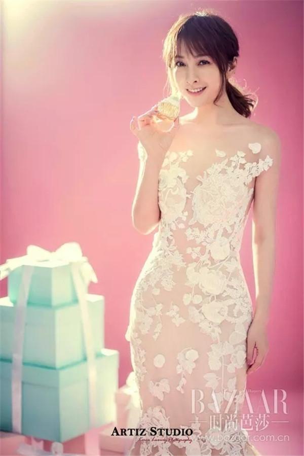 韩国艺匠携手吴昕,演绎婚纱与明星、时尚的激情碰撞