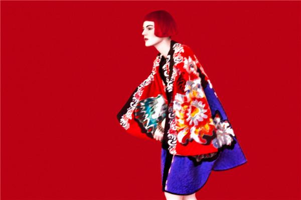 色彩与妆容的视觉大片 独树一帜的时尚创意