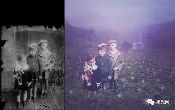 老照片如何修复 这才是PS修复老照片的最高境界!