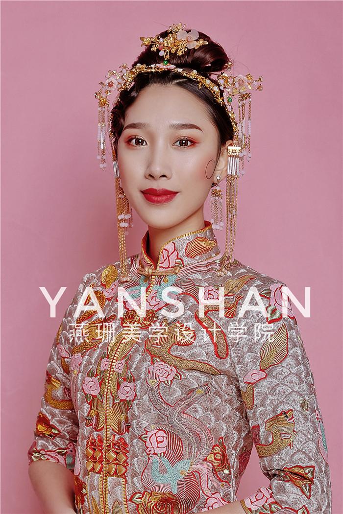 新中式新娘造型