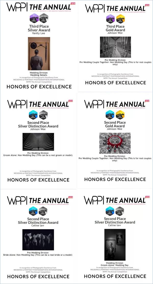PerfectFrame荣获WPPI全球年度最佳摄影机构
