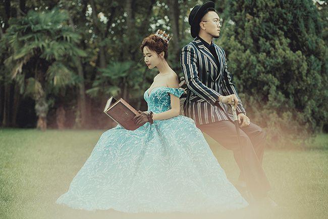 爱丽丝 婚纱照