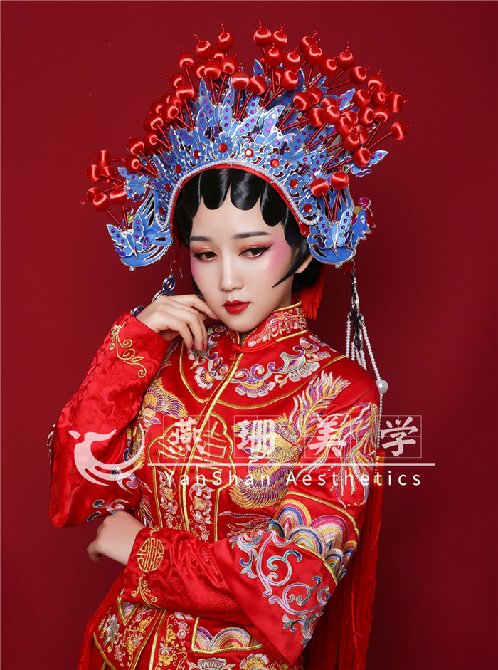 新中式新娘造型 化妆造型